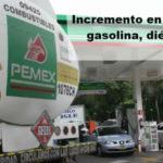 Aumenta precio de gasolina septiembre 2016