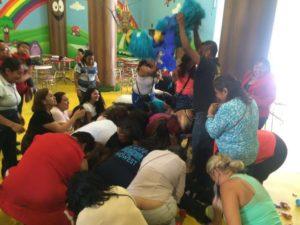Recreación con niños y niñas