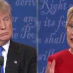 Debate Hillary Clinton VS Donald Trump