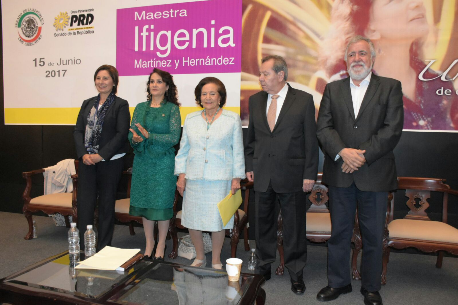 Homenaje a la Maestra Ifigenia Martínez y Hernández.