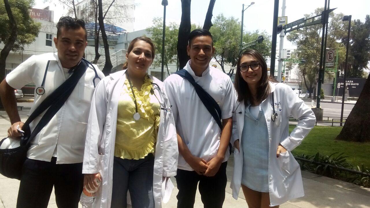 ¡Gracias equipo médico! Hacen posible #PorElBuenVivi
