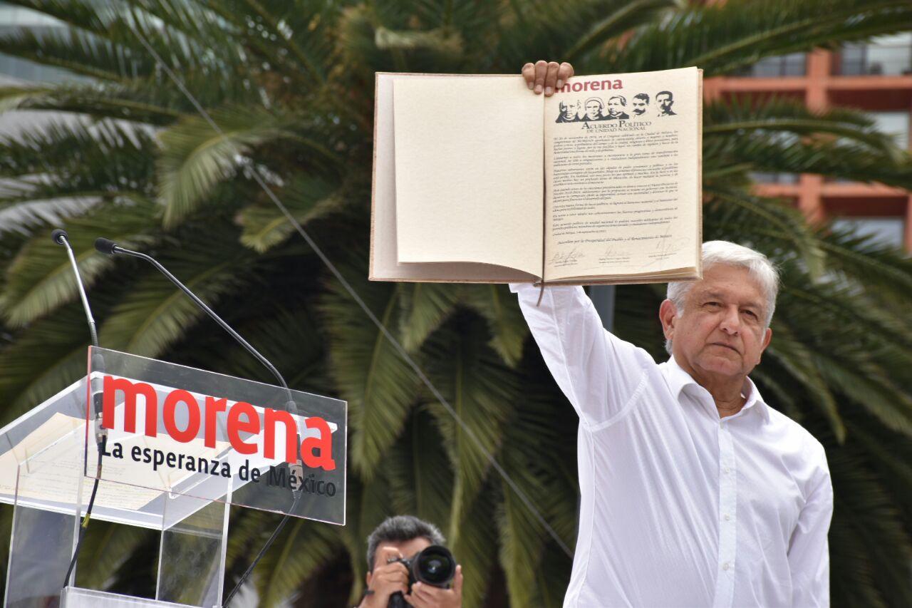 Firma del Acuerdo Político por la Unidad Nacional